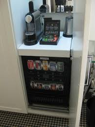 Nespresso Vending Machine Impressive Nespresso Machine And Automatic Mini Bar Picture Of Hotel Notting