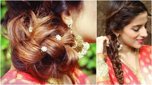 Hair Style For Medium Hair 3 indian hairstyles for medium to long hair indian wedding 1633 by wearticles.com