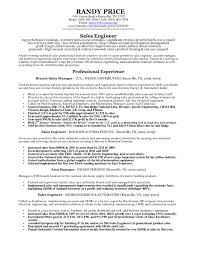 Sample Resume Of Sales And Marketing Engineer Refrence Technical