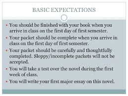 th grade summer reading always running by luis j rodriguez  3 basic expectations