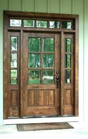 wooden front doors. Exterior Wood Doors With Glass Front Entry Do . Wooden
