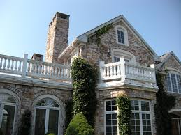 an example of a stone house built in central pennsylvania by pyle bros building stone