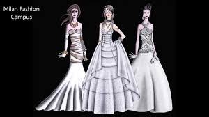 Bridal Wedding Dress Design Course Youtube