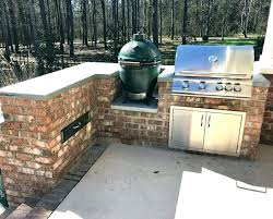 outdoor kitchen with green egg oor kitchen barbecue grills gas modular small grill big green