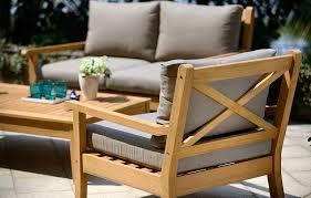 image of cozy teak wood furniture