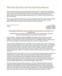 sample press release template partnership press release template word wordpress theme templates