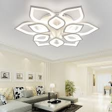 new modern led chandeliers for living room bedroom dining room acrylic iron indoor home chandelier