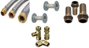 pin on brass hose fittings