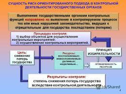 Презентация на тему Риск ориентированные подходы к планированию  4 СУЩНОСТЬ