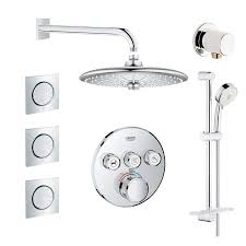 grohe gss grohtherm cir 10 000 smartcontrol shower system