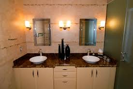 successful plan has multiple light sources including both overhead and task with good task lighting at the sink and mirror being key