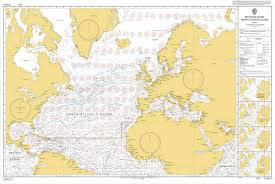 How Many Routeing Charts Are There Admiralty 5124 Planning Chart Routeing North Atlantic Ocean