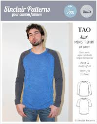 Men's Shirt Sewing Pattern