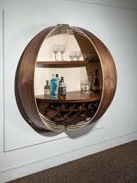 splinter works dime bar cabinet wall shelves for liquor mounted inspired spinning coin bar wall shelves liquor