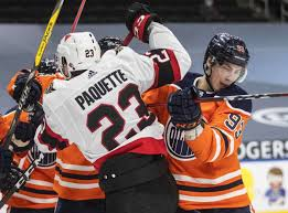 Leon draisaitl recorded a hat trick and connor mcdavid had five points as the edmonton oilers beat the the vegas golden knights tie the game up in the third period and shea theodore scores the. Mcdavid Draisaitl Pile Up Points Oilers Beat Senators 8 5