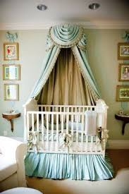Love muted mint and neutral tones!! Elegant victorian baby nursery decor  using modern furniture