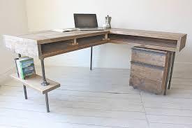 corner desk office furniture. stuart industrial reclaimed board corner desk office furniture