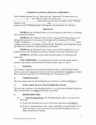 Event Planning Services Agreement 010 Template Ideas Wedding Planning Contract Sample Planner