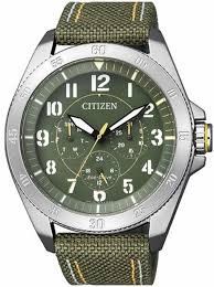 men s citizen eco drive military green watch bu2030 09w