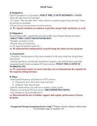 Soap Note Outline Sample 8 Internal Medicine Progress Format