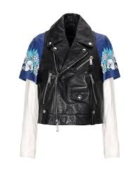 dsquared2 jackets in blue