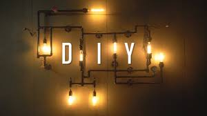 How To Make A Light Fixture With Multiple Bulbs Diy Industrial Wall Pipe Lamp Tutorial Build Guide