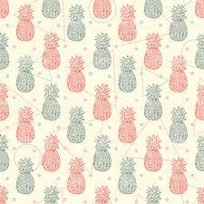 fruit wallpaper pattern. Contemporary Wallpaper Exotic Fruits Wallpaper Hand Drawn Doodle Pineapple Seamless Pattern  Royaltyfree Exotic Wallpaper In Fruit Wallpaper Pattern H