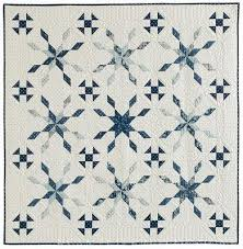 Quilt Inspiration: Free pattern day: Snowflake and snowman quilts & Snowfall quilt, 60 x 60
