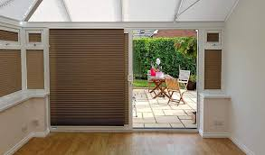 sliding door blinds conservatory