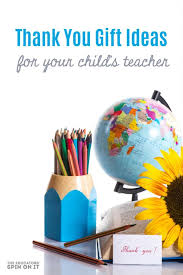 teacher themed globe pencils and flowers for teacher appreciation day