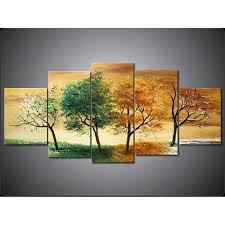 five piece canvas wall art 5 piece wall art modern abstract botanical oil painting canvas tree life fine pentaptych decor floral on canvas wall art tree of life with wall art designs five piece canvas wall art 5 piece wall art modern