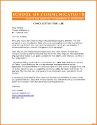 Cover Letter Academic Academic Cover Letter Sample Resume