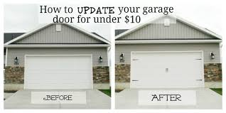diy garage doorGarage Makeover Projects  Decorating Your Small Space