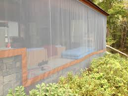 do it yourself outdoor curtains residential canvas patio