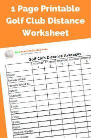 golf club distance cheat sheet 27 best golf infographics images on pinterest golf tips golf