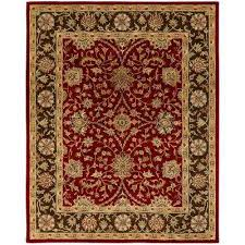 empire rust brown 9 ft x 12 ft area rug