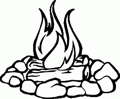 Small Picture Campfire Coloring Page Kids Coloring