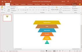 Funnel Powerpoint Template Free Sales Funnel Template For Powerpoint