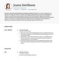 Cv Consulting Consulting Cv Examples Templates Visualcv