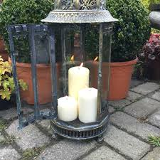extra large metal garden lantern