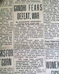 war see coverage on the second round table conference in london other news sports and advertisements of the day complete in 22 pages light toning