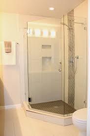 Stand up corner shower ideas