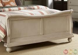 white wash furniture. rustic traditions ii whitewash sleigh bedroom furniture set white wash p