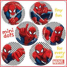 Spiderman Reward Chart Details About Spider Man Stickers 48 Dots Party Loot Reward Charts Birthday Spider Man