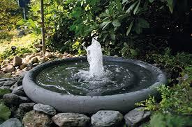 Stein Gartenbrunnen Steinbrunnen Brunnen Aus Stein