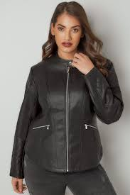 leather jackets plus size plus size coats jackets ladies coats jackets yours clothing