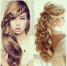 Half Ponytail Hairstyles Curly Hair Ponytail Ideas Long Hair Easy Half Up Half Down