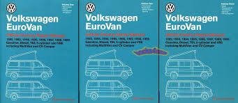 volkswagen eurovan manuals at books4cars com 92 1999 volkswagen eurovan factory shop service repair manual gasoline diesel tdi 5 cylinder and vr6 including multivan rialto and cv camper 2 516 page