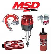 msd 9902 ignition kit ready to run distributor wires coil early msd 90171 ignition kit digital 6a distributor wires coil early ford 289 302