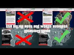 Gta 5 Biker Business Payout Chart Gta Explaining The Best And Worst Business Locations Guide